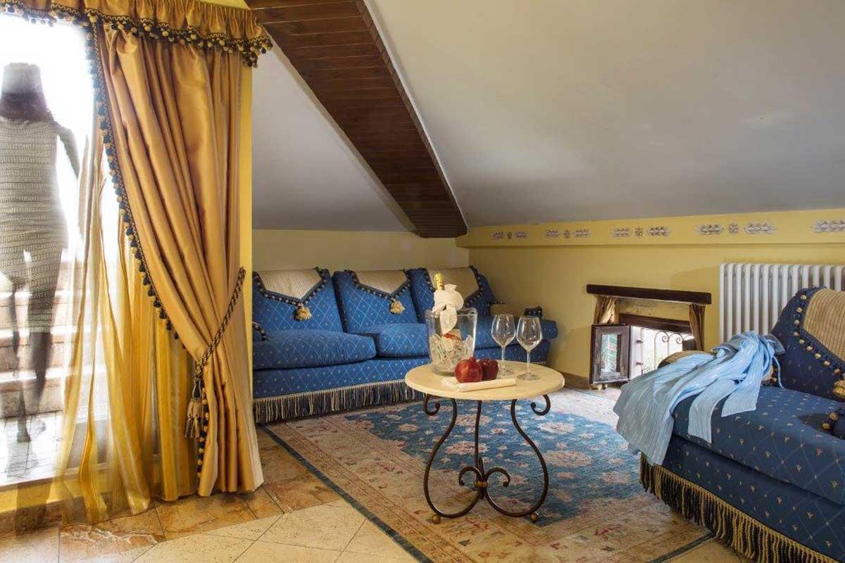 Salotto della Top Suite