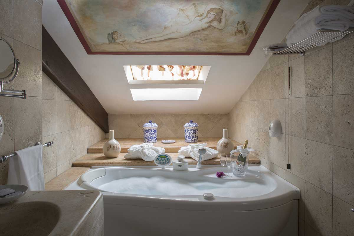 Bagno della Top Suite
